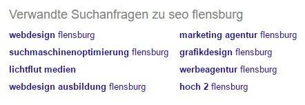 SEO Flensburg Suggest